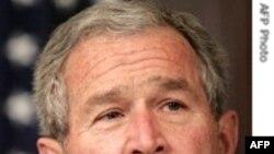 پرزيدنت بوش: اگر ايران راه نادرست را انتخاب کند آمريکا برای حفظ منافع خود و عراق وارد عمل خواهد شد