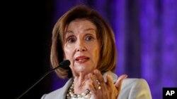 La démocrate Nancy Pelosi, présidente de la Chambre des Représentants.