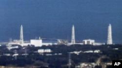 Aerial view of Fukushima Daiichi nuclear power plant in Fukushima, March 18, 2011.