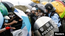Sukob policije i demonstranata u Hong Kongu