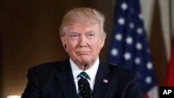 Ông Donald Trump Trump là tổng thống tỷ phú đầu tiên trong lịch sử nước Mỹ.