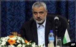 Le Premier ministre du Hamas Ismail Haniyeh (archives)