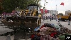 اعتراضات در ترکیه ادامه دارد.
