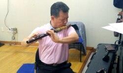 남북한 전통악기의 만남 '통일대금'