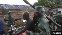 ພວກນັກລົບຂອງກຸ່ມ M23 ບຸກເຂົ້າໃຈກາງເມືອງ Goma ປະເທດ Mali.