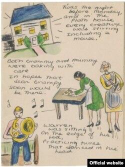 شعر و نقاشی از سیلویا پلات - سال ۱۹۴۰