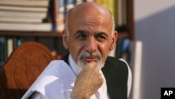 President-elect Ashraf Ghani Ahmadzai