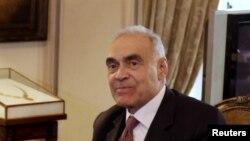 Menteri Luar Negeri Mesir, Mohammed Kamel Amr di Kairo (Foto: dok). Kementrian Luar Negeri Mesir telah meminta bantuan Amerika untuk mendorong Israel agar menghentikan serangan terhadap militan Hamas di Jalur Gaza (15/11).