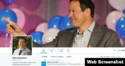 全球最大企业移动管理软件公司AirWatch创办人艾伦.戴比耶推特截屏