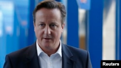 PM Inggris David Cameron mengusulkan rencana untuk mengekang imigrasi dari anggota Uni Eropa lainnya (foto: dok).