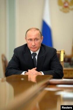 Rossiya rahbari Vladimir Putin, 17-iyul, 2014