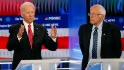 VOA: Seis aspirantes presidenciales demócratas debaten antes del inicio de las primarias
