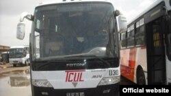 Autocarros da TCUL