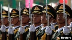 چین کی پیپلز لبریشن آرمی کے سپاہی