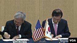 Los alcaldes Edwin Lee y Park Won-soon reafirmaron casi cuatro décadas de hermandad entre las dos ciudades.