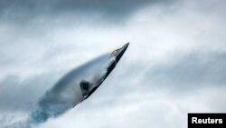 На фото: Американський стелс-винищувач F-22
