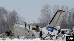 Розбитий російський літак біля Тюмені