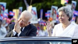Sihanouk is revered among many Cambodians for leading the country through its independence from France, in 1954.