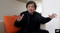 Tokyo-born architect Shigeru Ban, 56, the recipient of the 2014 Pritzker Architecture Prize, in New York, March 20, 2014.