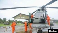 انڈونیشیا کے امدادی مشن کا ہیلی کاپٹر۔ (فائل فوٹو)