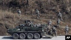 미-한 합동 군사훈련 (자료사진).