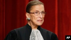 Ruth Bader Ginsburg le 29 septembre 2009.