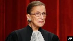 روث بادر گینزبرگ قاضی دیوان عالی آمریکا