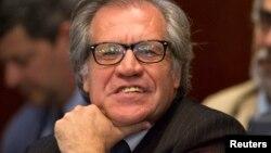 """El secretario Luis Almagro reveló que el informe de la OEA sobre Venezuela señala que en la nación hay"""" presos políticos que son torturados""""."""