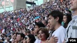 Birinci Avropa Oyunlarının açılışı
