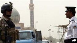 거리를 순찰하는 이라크 군과 경찰 (자료사진)