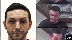 比利時警方提供的不具時間的照片顯示巴黎恐襲嫌疑人穆罕默德•阿布里尼