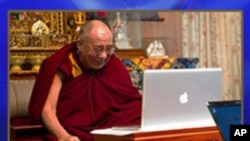The Dalai Lama and Chinese Internet Connection