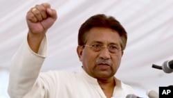 Mantan Presiden Pakistan, Jenderal Pervez Musharraf (foto: dok).