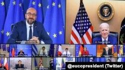 Віртуальний саміт лідерів ЄС та США