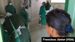 Centro de Tratamento de Doenças Diarreicas, em Maputo