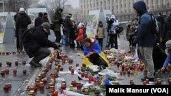 Ukraine mourning