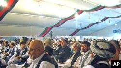 کابل میں ہونے والا امن جرگہ (فائل فوٹو)