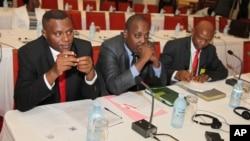 Burundi opposition members