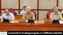 TBT-CTN Nguyễn Phú Trọng chủ trì cuộc họp Bộ Chính trị hôm 21/6/2019