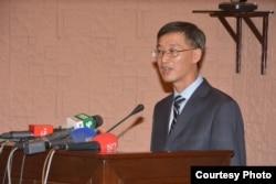FILE - Chin's ambassador to Pakistan, Yao Jing, Islamabad, April 20, 2018 (Courtesy: Pakistan China Institute)
