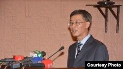 Chin's ambassador to Pakistan, Yao Jing, Islamabad, April 20, 2018 (Courtesy: Pakistan China Institute)