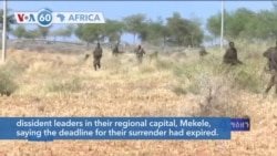 VOA60 Africa - Ethiopia: Residents Flee Tigray Capital Fearing Military Assault