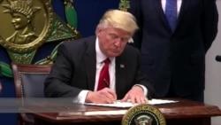川普签署新的旅行禁令