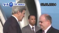 Ngoại trưởng Kerry quay lại Israel cho vòng hòa đàm mới (VOA60)