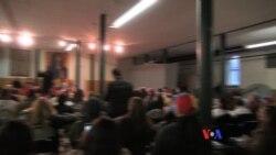 Líderes estudiantiles se reunieron con venezolanos en Nueva York