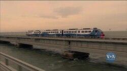 США назвали зухвалою неповагою запуск Росією залізничного сполучення через Керченський міст. Відео