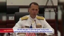 Hải quân Mỹ nói với TQ: Chúng tôi vẫn hoạt động ở Biển Đông