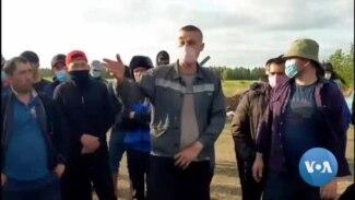 O'zbekistonliklar hanuz Rossiya-Qozog'iston chegarasida sarson