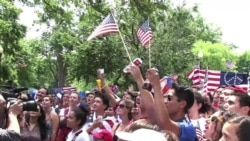 DC Hosts World Cup Watching in the Park