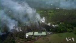 夏威夷大岛地震后火山喷发